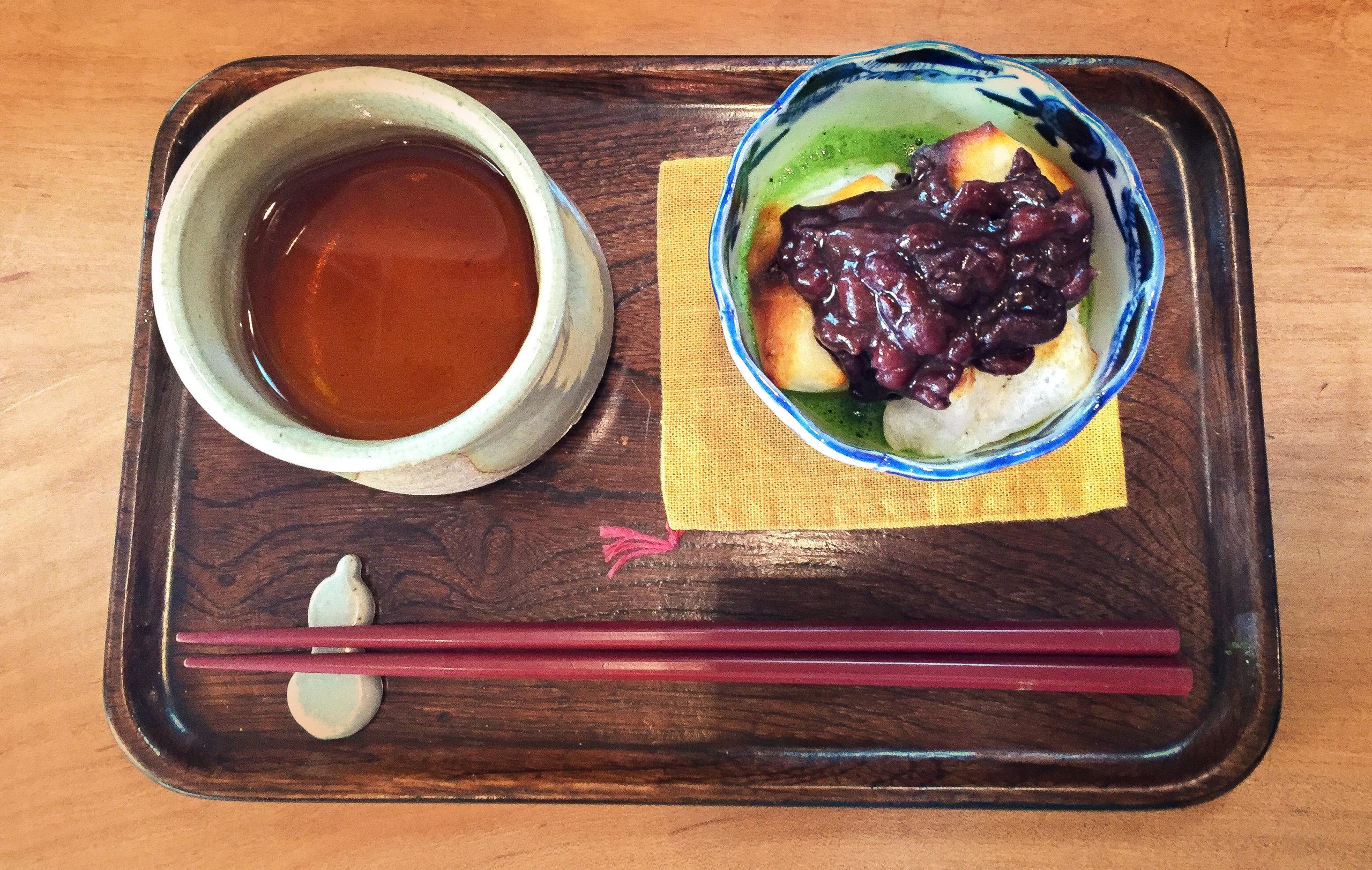 京都丹波産 大納言小豆使用 『濃茶ぜんざい』